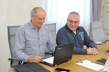 Визит президента IAU Перо Стойнича в Москву