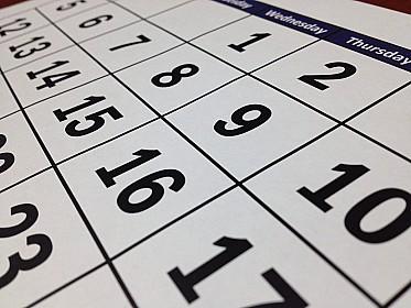 Предварительный календарь